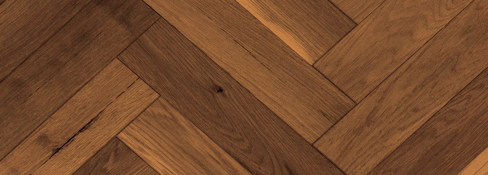 Vintage Hardwood Flooring Herringbone Red Oak Kahlua