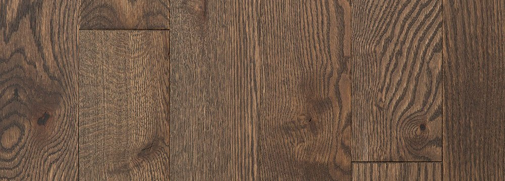 Vintage Hardwood Flooring Wire Brushed Red Oak Gryphon