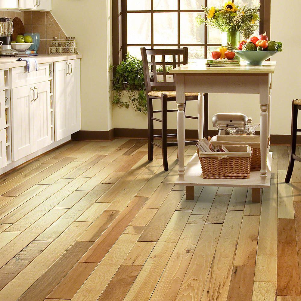 Engineered Or Solid Hardwood Flooring For The Kitchen